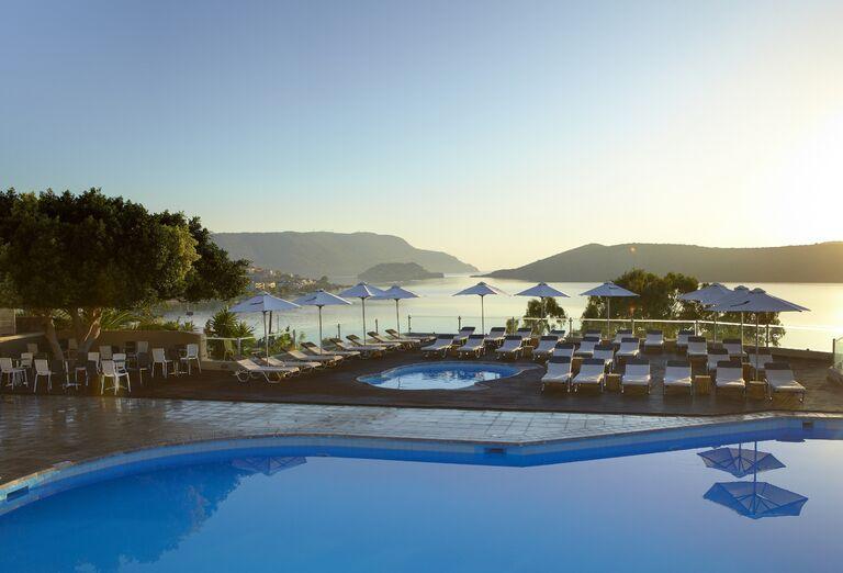 Vodný svet Hotel Elounda Blu ****+