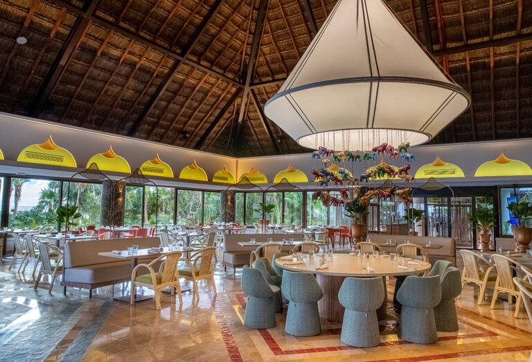Hotel Grand Bahia Principe Tulum - reštaurácia