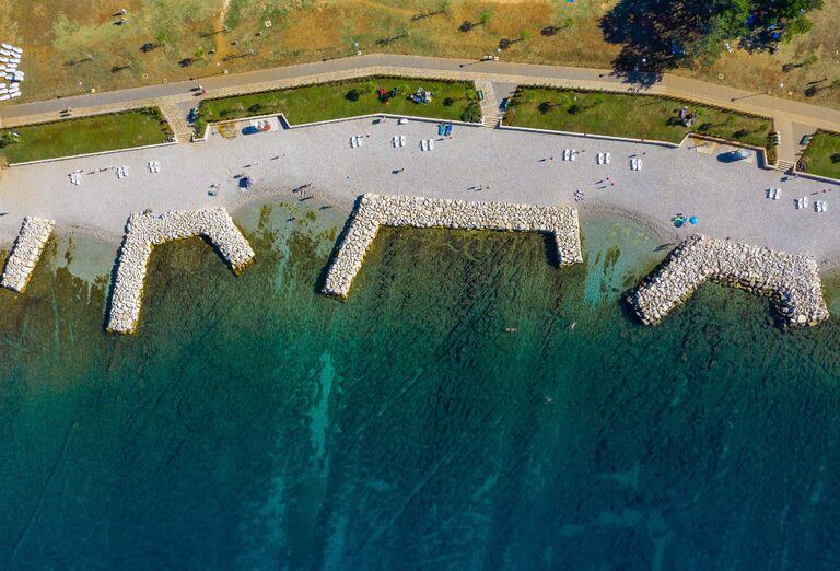Pláž Hotel Materada Plava Laguna ***+