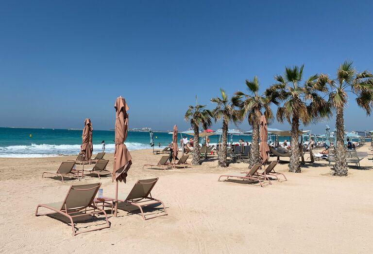 Pláž Hotel Caesars Palace Bluewaters Dubai *****