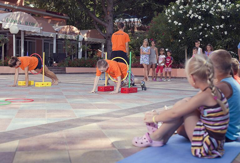 Hotel Mimosa / Lido Palace - animácie pre deti