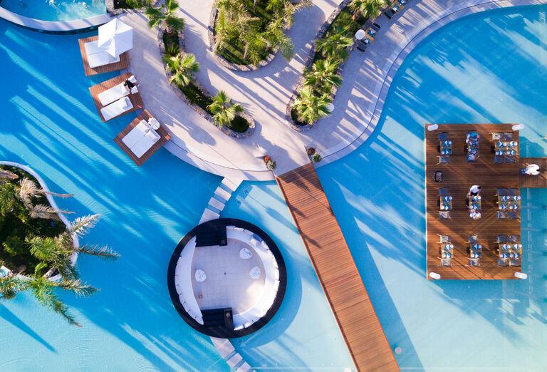 Vodný svet Hotel Stella Island Luxury Resort & Spa *****