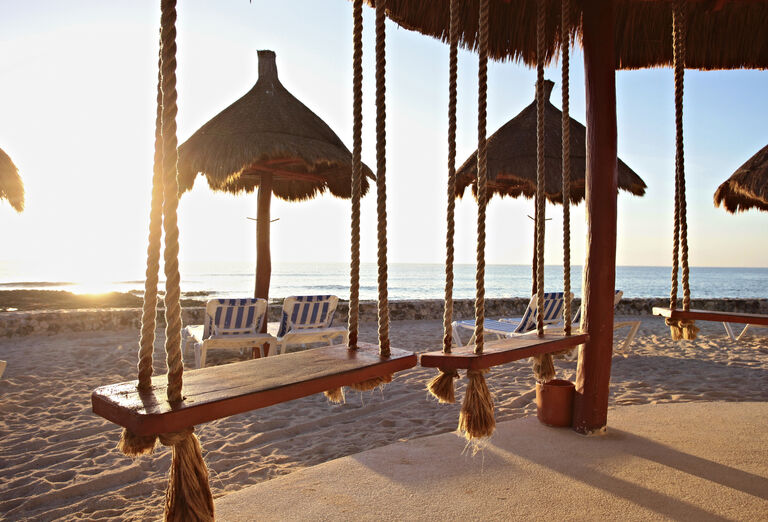 Hotel Bahia Principe Luxury Akumal - pláž