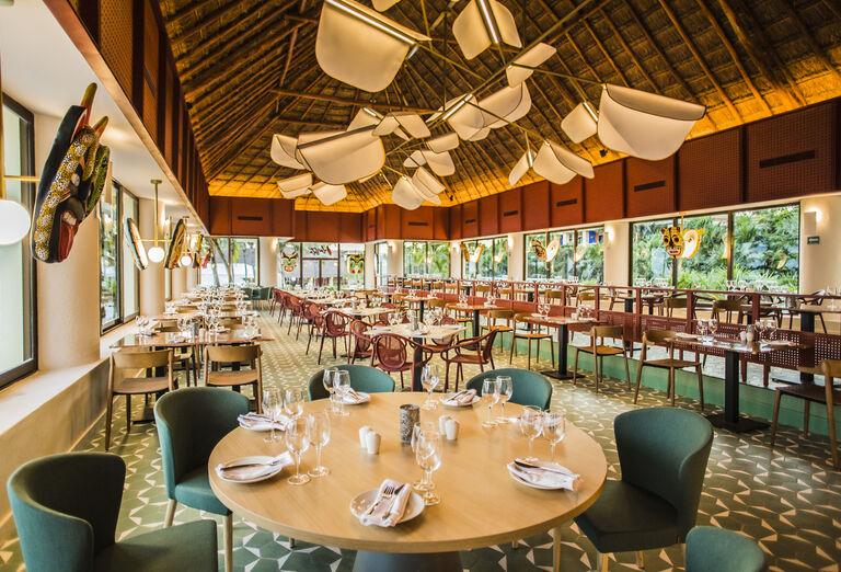 Hotel Bahia Principe Luxury Akumal - reštaurácia