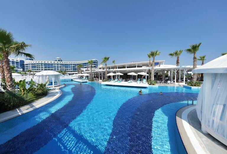 Vodný svet Hotel Sueno Deluxe Belek *****
