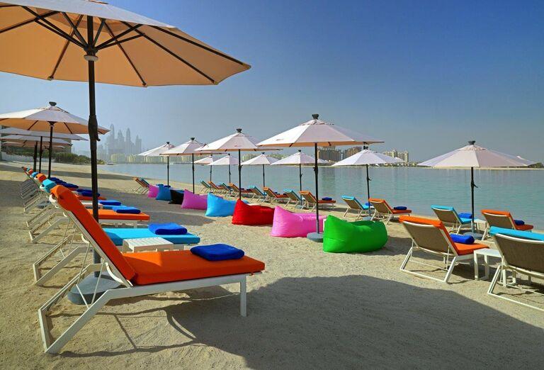Pláž Hotel Aloft Palm Jumeirah ****