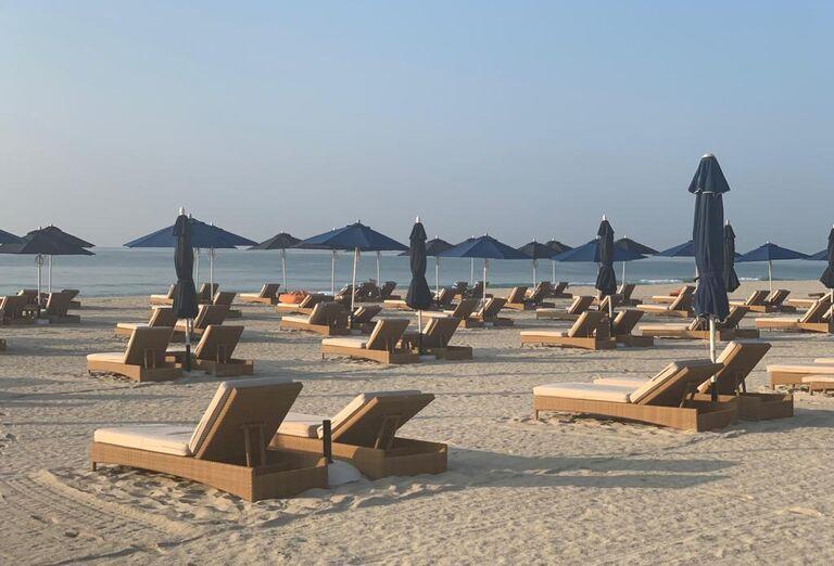 Pláž Hotel Al Baleed Resort Salalah By Anantara *****