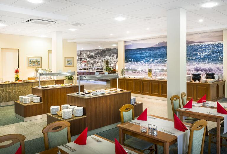Reštaurácia v hoteli Corinthia Baška