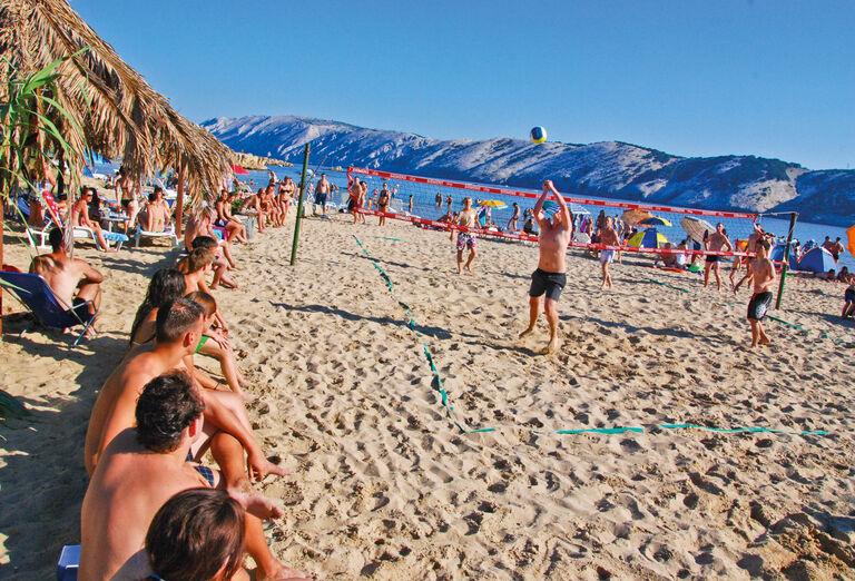 Plážový volejbal v San Marino rezorte