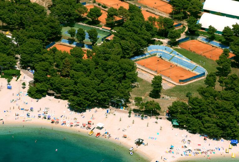 Pláž Hotel Rivijera Sunny Resort by Valamar ***