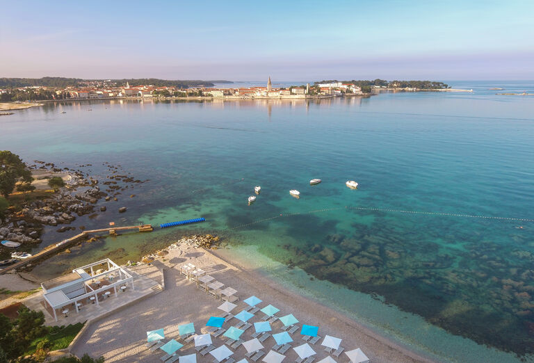 Pláž Hotel Valamar Parentino ****+