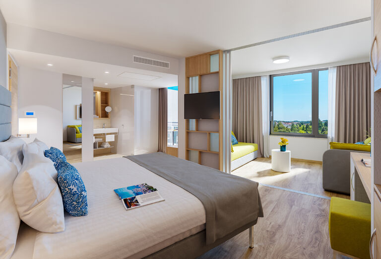 Ubytovanie Hotel Valamar Parentino ****+