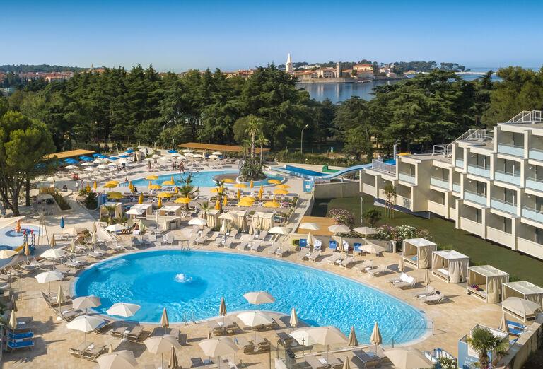 Vodný svet Hotel Valamar Parentino ****+