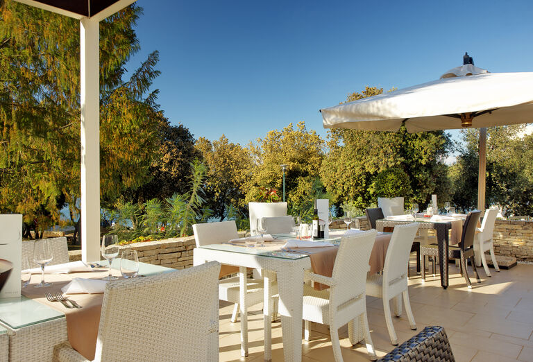 Reštaurácia v rezorte Valamar Club Tamaris