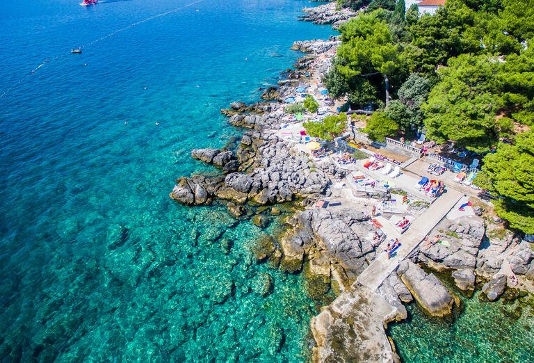 Pláž Hotel Dražica ***