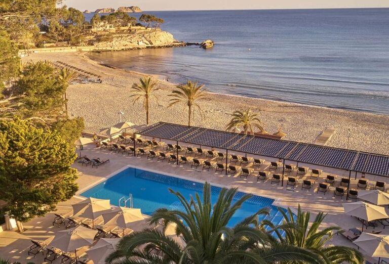Pláž Hotel Secrets Mallorca Villamil Resort & Spa *****