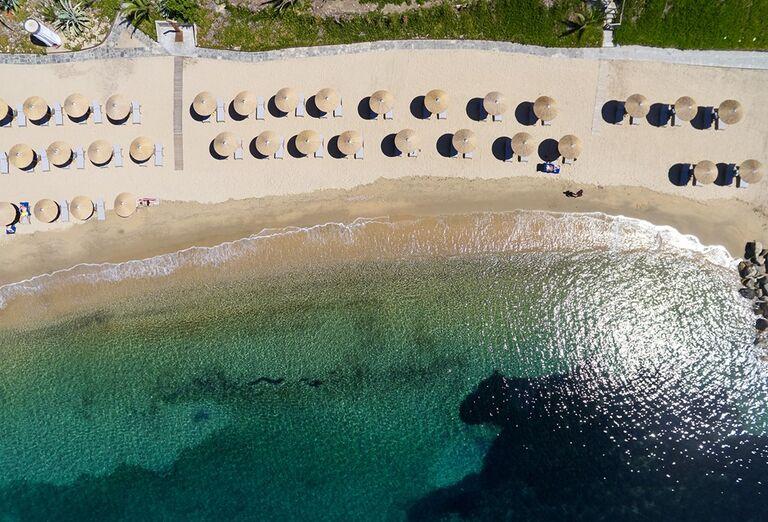 Pláž Hotel Eagles Palace *****