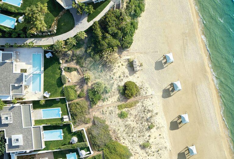 Pláž Hotel Grecotel Mandola Rosa Suites & Villas *****