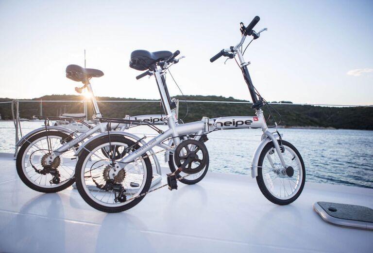Bicykle k dispozícii.