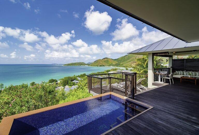 Ubytovanie Hotel Raffles Seychelles ******