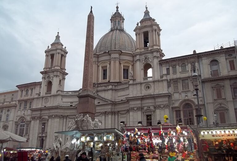 Ostatné Rím - večné mesto letecky