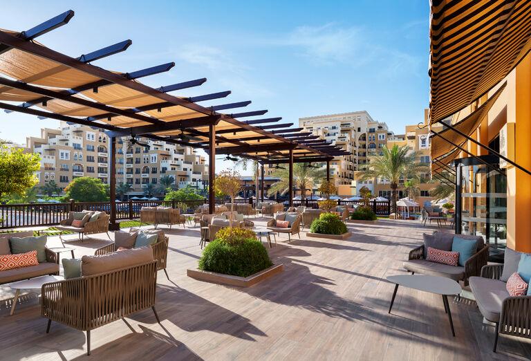 Hotel Rixos Bab Al Bahr - terasa