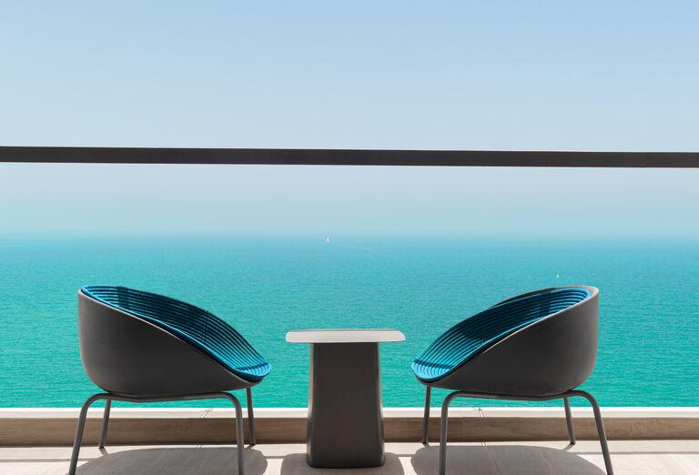 Hotel Hampton by Hilton Marjan Island - balkón