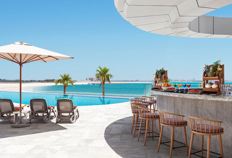 Hotel Hampton by Hilton Marjan Island - plážový bar