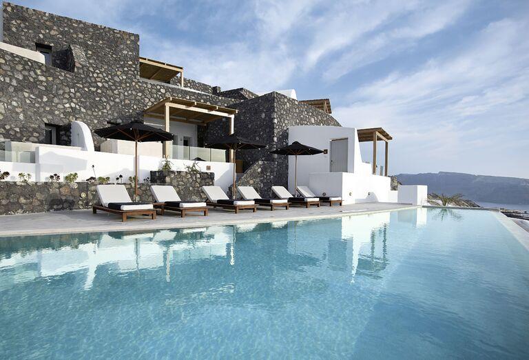 Vodný svet Hotel Santo Maris Oia Luxury Suites & Spa *****
