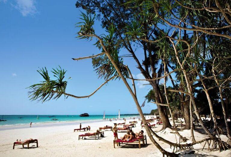 Pláž pri hoteli Voi Kiwengwa