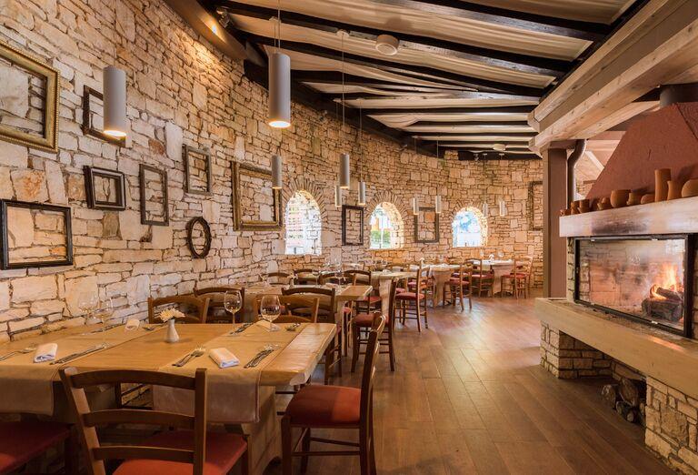 Reštaurácia v stredisku Stella Maris