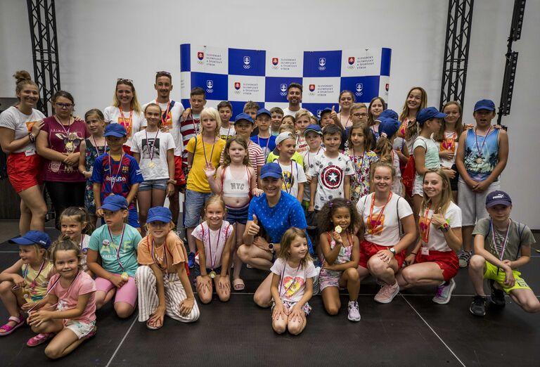 Vodný svet Denný tábor Slovenského olympijského tímu