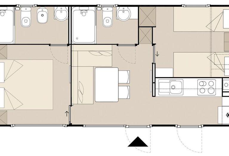Ubytovanie Mobilné Domčeky MH Solaris ****