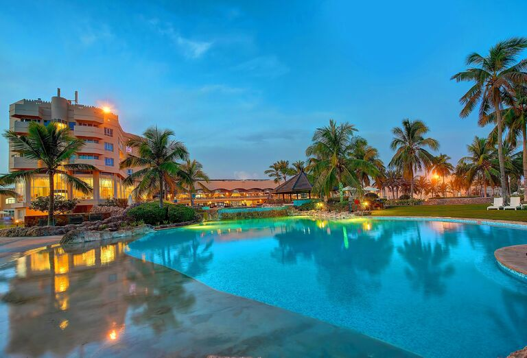 Vodný svet Hotel Crowne Plaza Resort Salalah *****